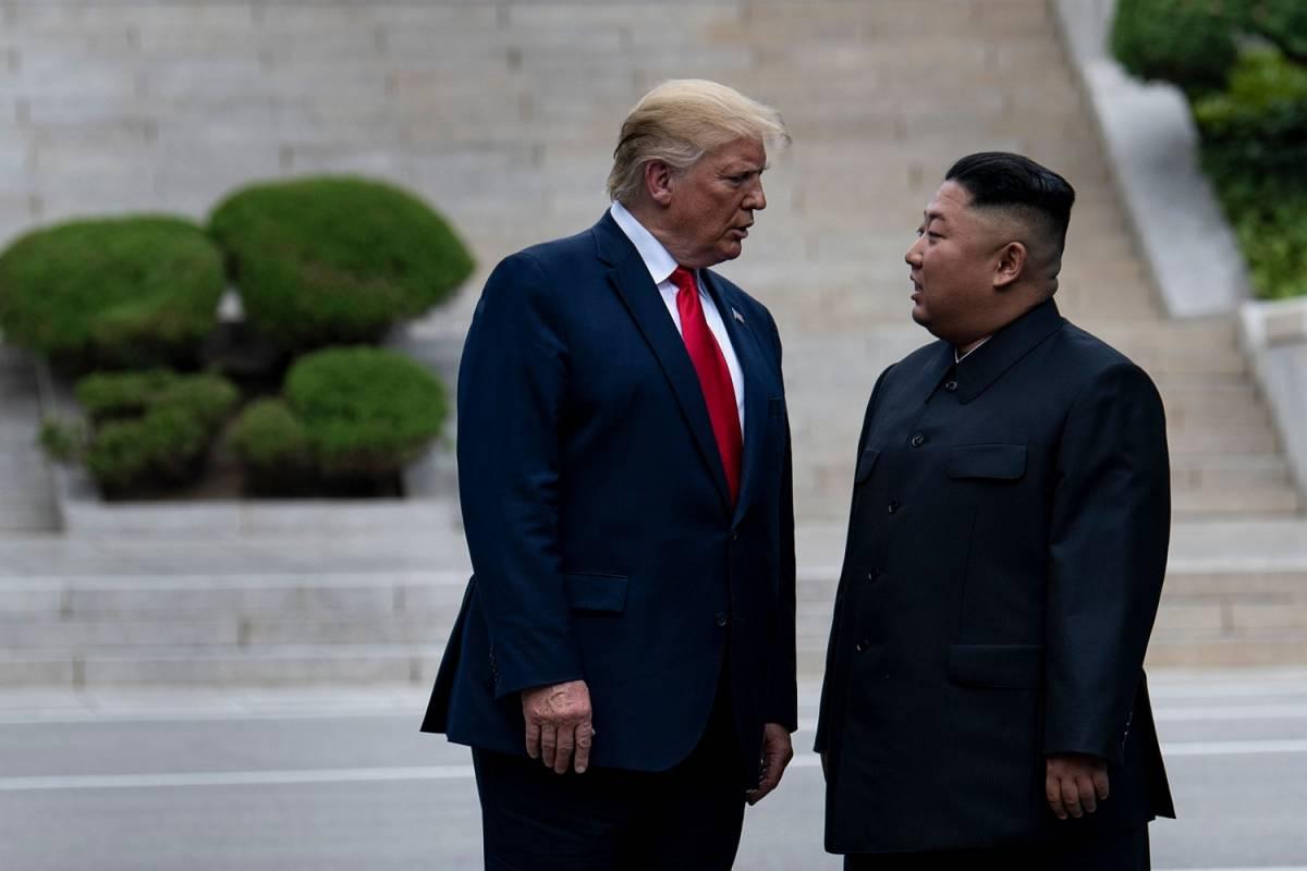 Venti passi nella Storia Trump primo presidente a entrare in Nord Corea