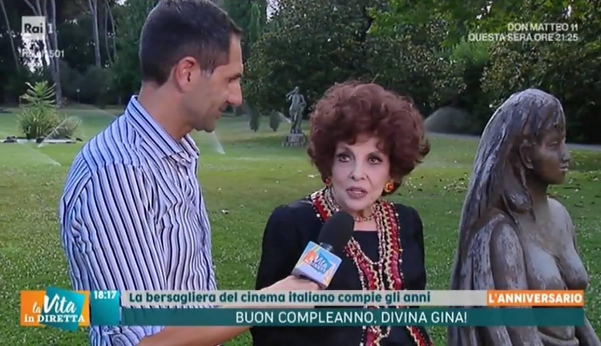 """Gina Lollobrigida: """"A 92 anni scrivo la mia biografia"""""""