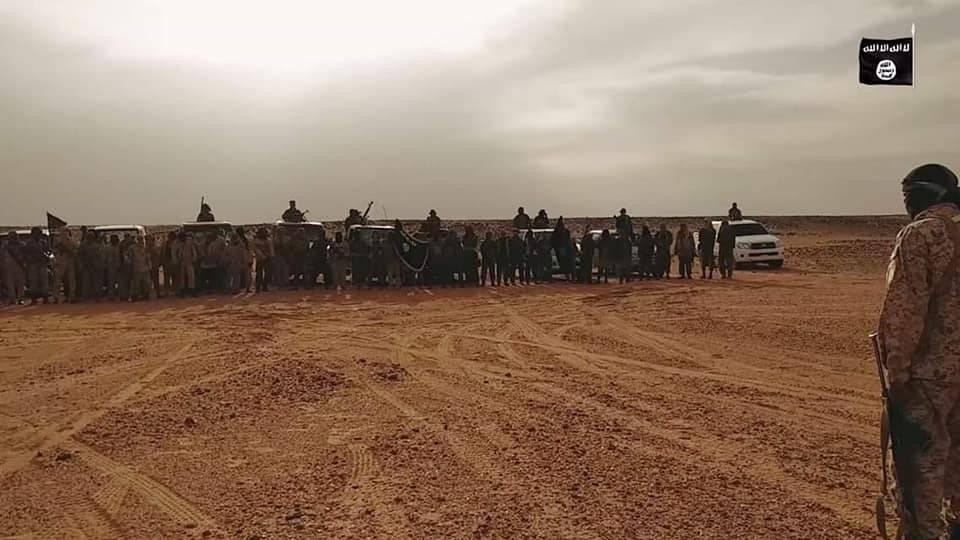 Un frame del video di Abu Marab Al Libi