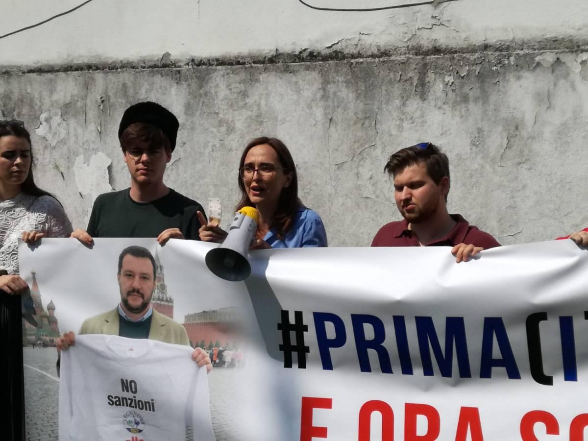 Quartapelle contro Savoini: ma i neonazisti erano con Kiev