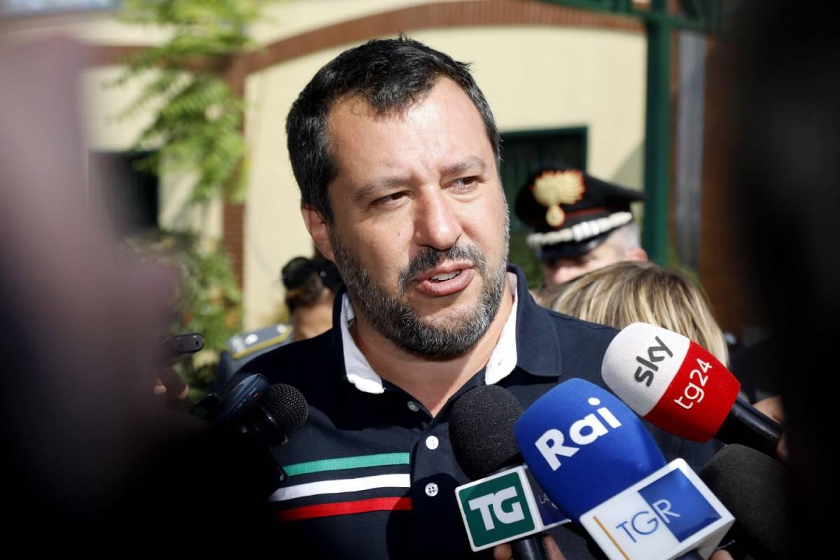 """Salvini non ferma lo scontro: """"Di Battista? Lo mando a c..."""""""