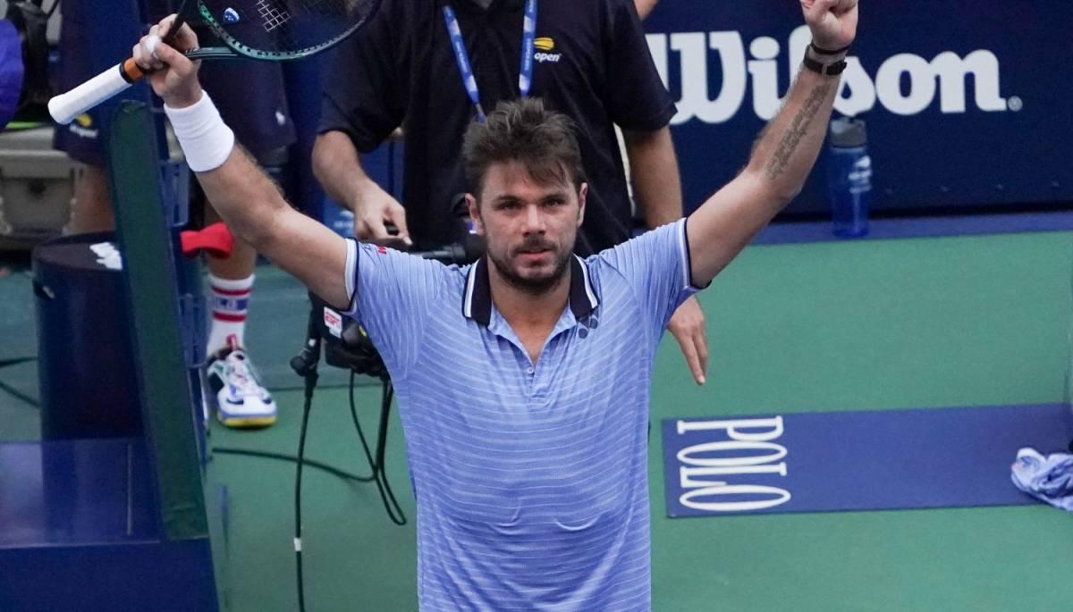 Us Open, Wawrinka ai quarti di finale: Djokovic ko con ritiro