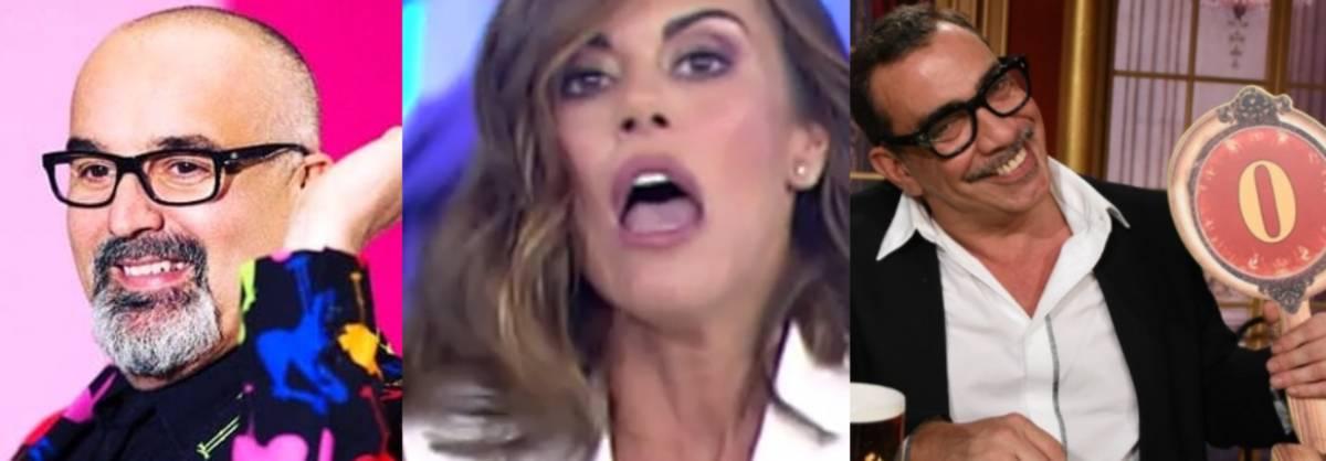 """Bianca Guaccero si toglie il reggiseno in diretta tv: """"Non mi importa niente"""""""