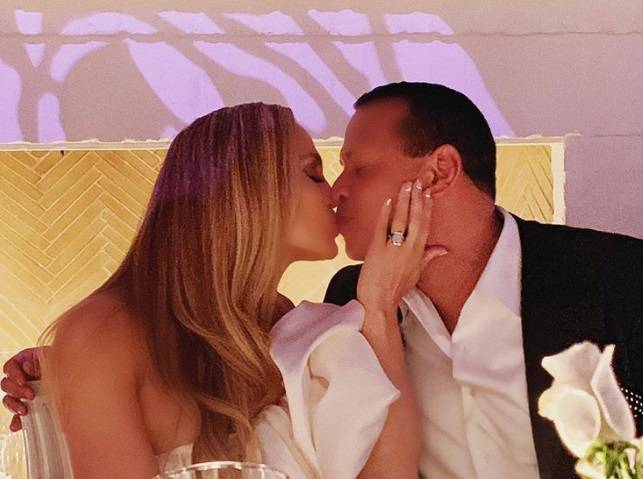 Festa di fidanzamento ufficiale per Jennifer Lopez e Alex Rodriguez