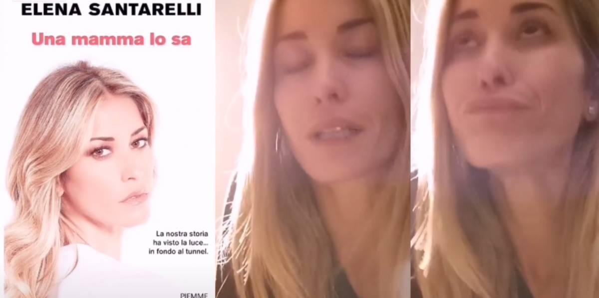 """Elena Santarelli annuncia il libro sul cancro: """"Una mamma lo sa"""""""