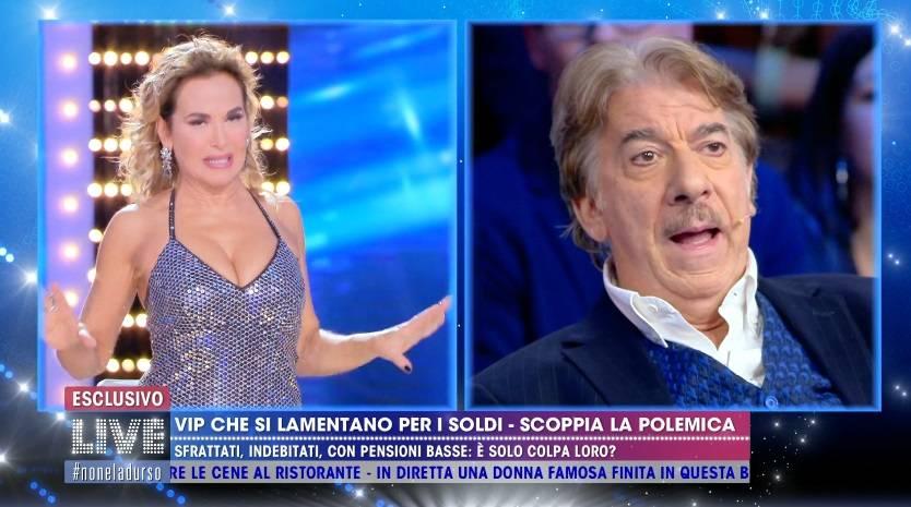 """I c... miei sono c... miei"". Marco Columbro sbotta a Live!"