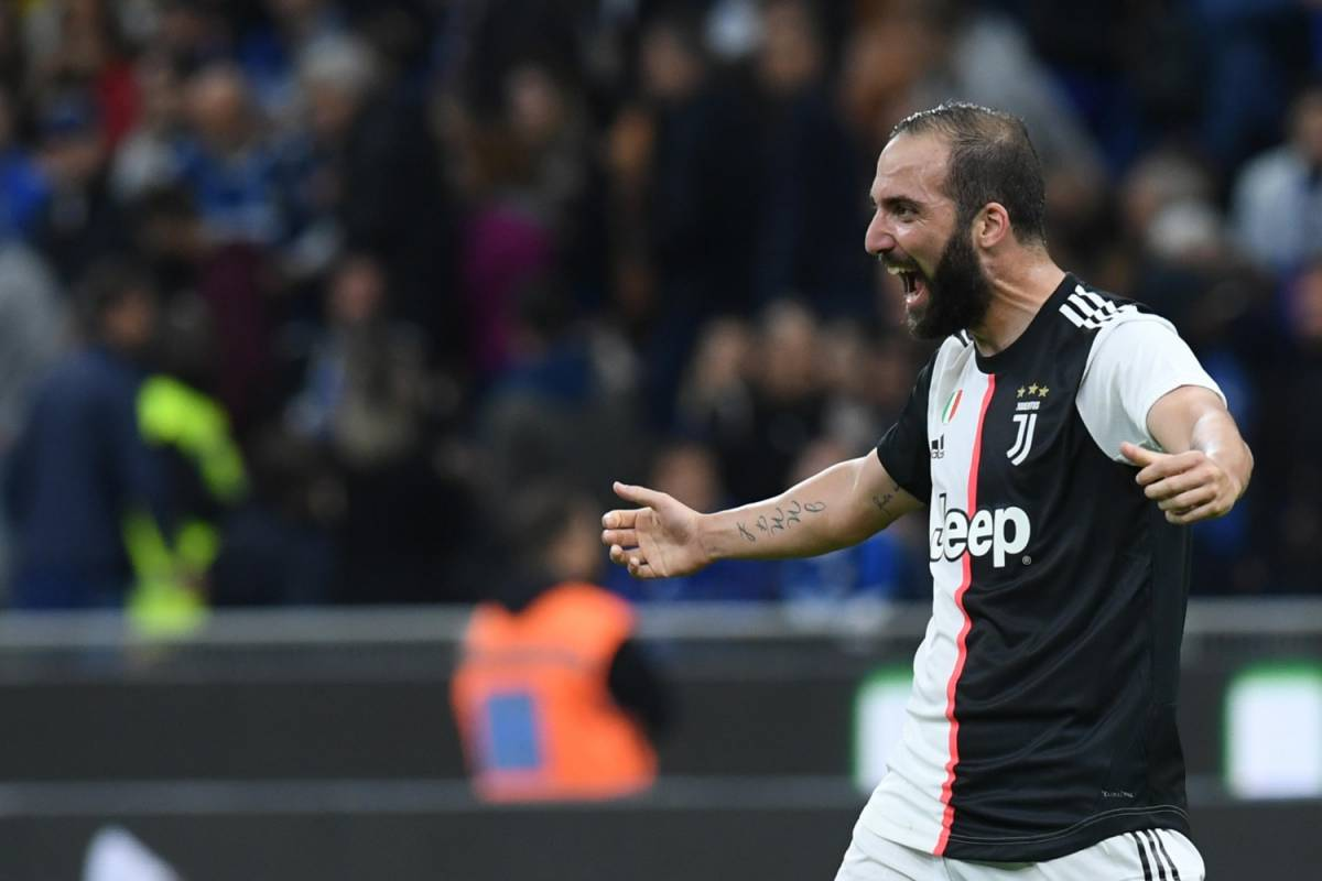 Juventus, il gol di Higuain è lo schema perfetto. Provato in allenamento prima di San Siro