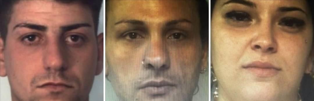 Spacciavano droga in casa, arrestati tre catanesi