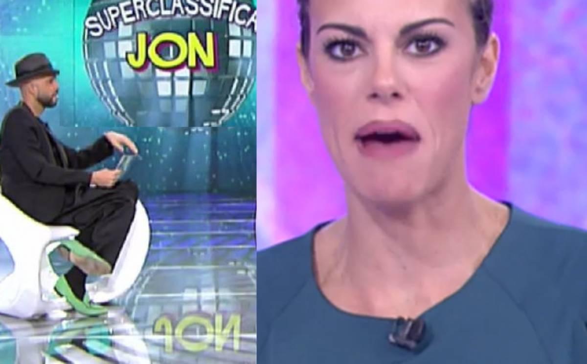 """Bianca Guaccero gela l'ex gieffino Jonathan: """"Non hai detto una cosa intelligente"""""""