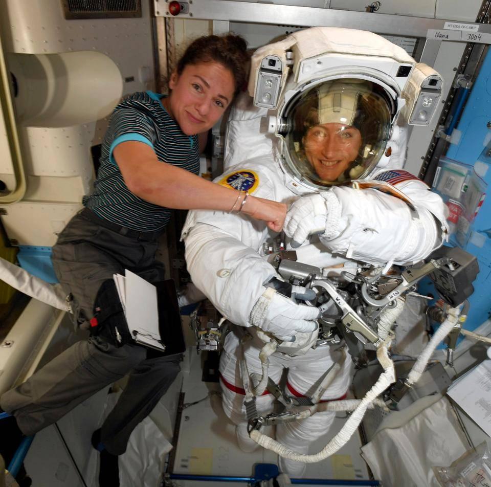 Una passeggiata nello spazio La prima volta per sole donne