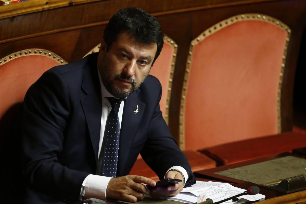 """Scorta alla Segre, Salvini: """"Anche io ricevo minacce"""""""