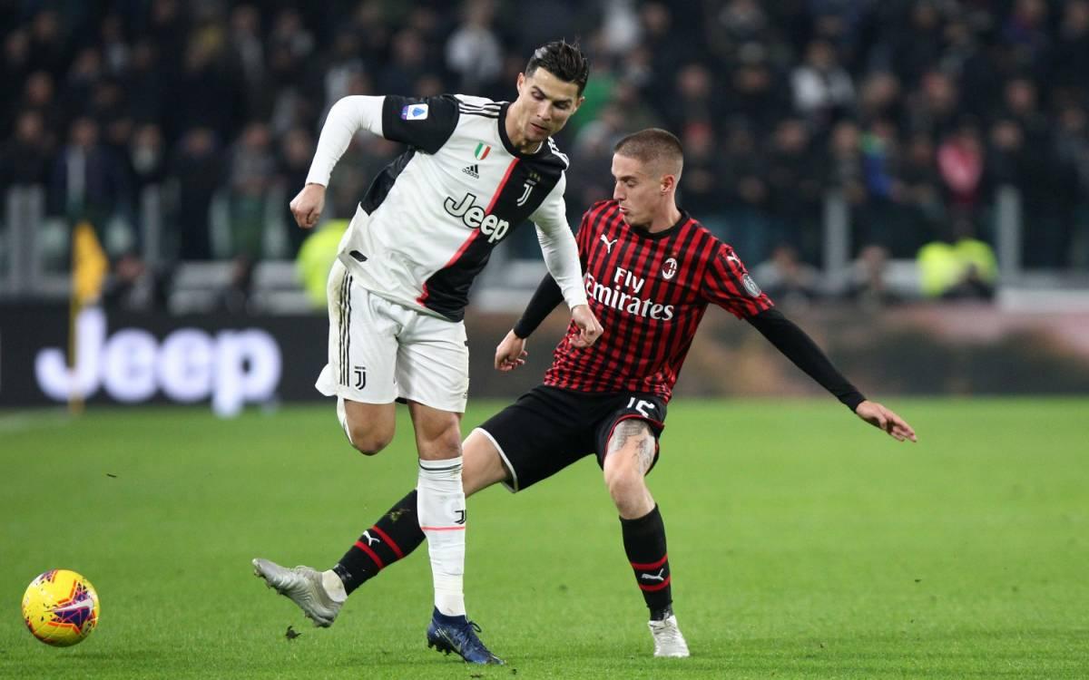 Coppa Italia, Juventus-Milan rinviata a data da destinarsi