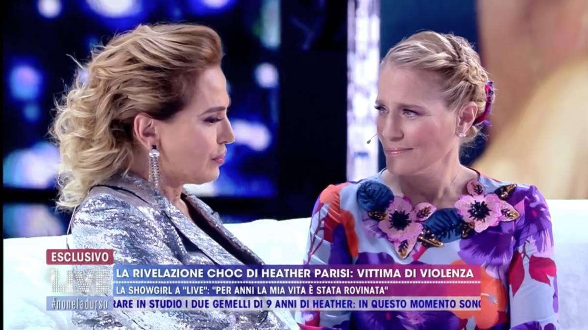 """La figlia di  Heather Parisi: """"Mio padre è estraneo alle violenze su mia madre"""""""