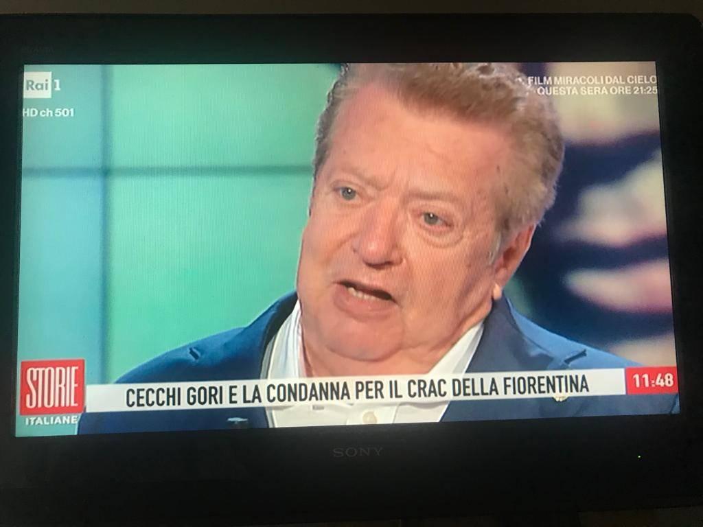 """Vittorio Cecchi Gori: """"Per la Fiorentina sono stato l'unico condannato"""""""
