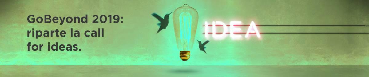 GoBeyond 2019, 120 le idee in gara per l'innovazione e il sociale