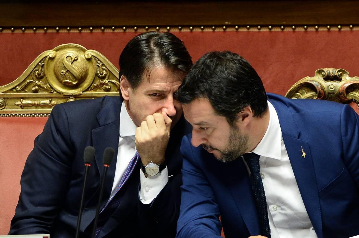 """Gregoretti, Salvini smaschera Conte: """"Disse che avrebbe gestito tutto lui..."""""""