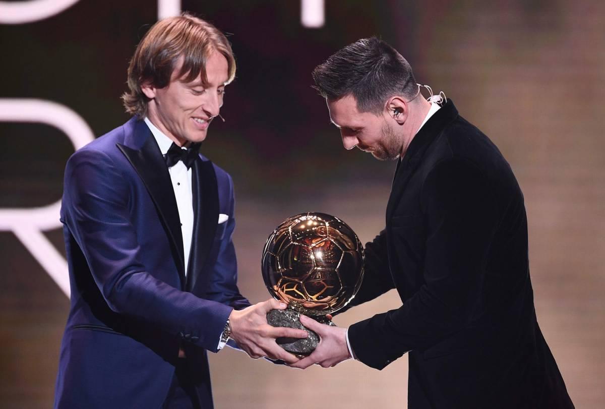 Pallone d'Oro, frecciata di Modric a Ronaldo: ''Bisogna esserci anche quando non si vince''
