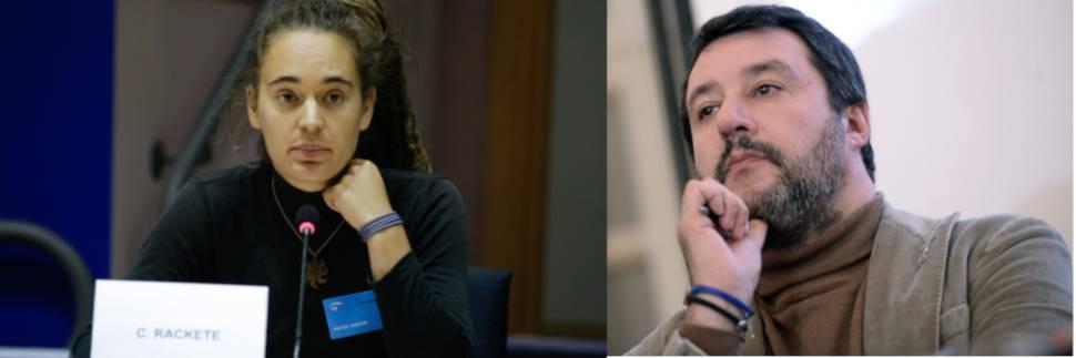 "I giudici ripartono all'assalto: ""Salvini a processo perché diffamò Carola Rackete"""