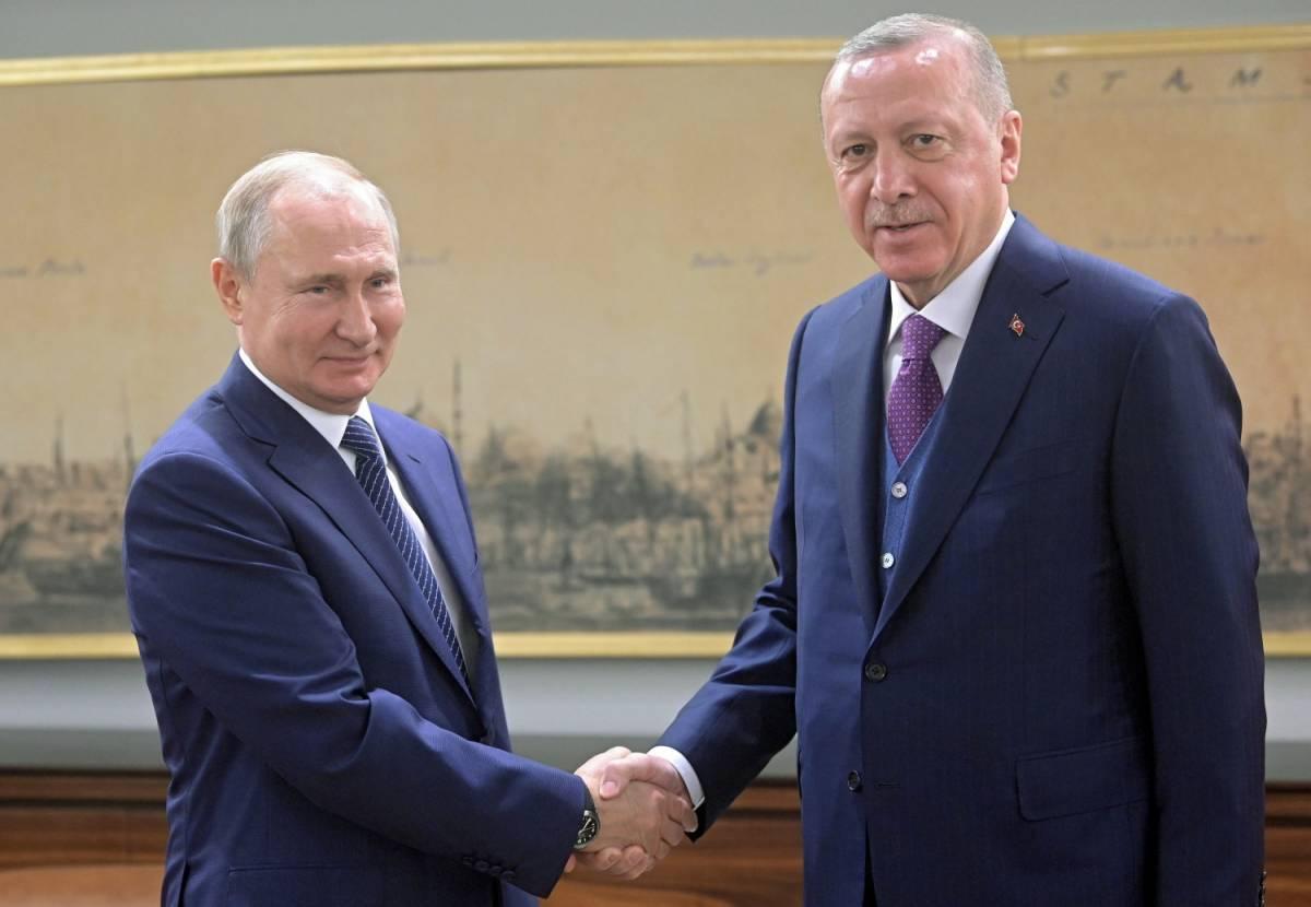 Erdogan-Putin, patto d'acciaio Sono loro i padrini della pace