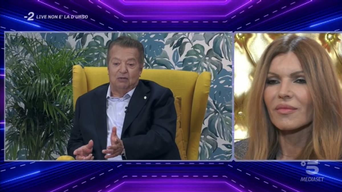"""Gf Vip, Rita Rusic ricorda il matrimonio con Cecchi Gori: """"Mi trascinò fuori dalla macchina"""""""