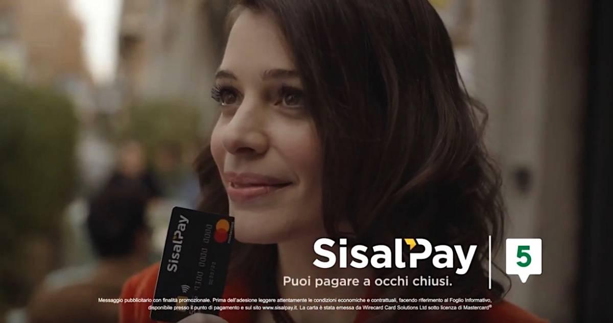 Pagamenti, sbarca in Tv la nuova carta SisalPay-Banca 5