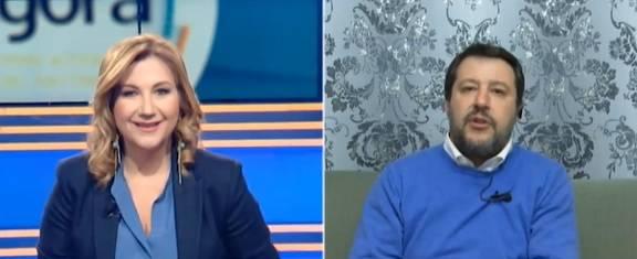 """Salvini sulla citofonata: """"Se il ragazzo non spaccia avrà le mie scuse"""""""