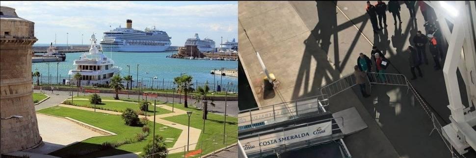 Nave bloccata a Civitavecchia, a bordo due casi sospetti di coronavirus