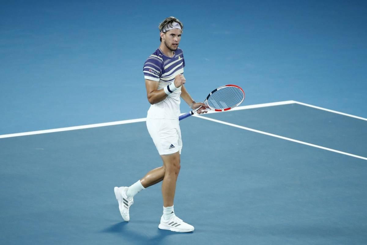 Australian Open, Thiem batte 3-1 Zverev e si regala Djokovic in finale