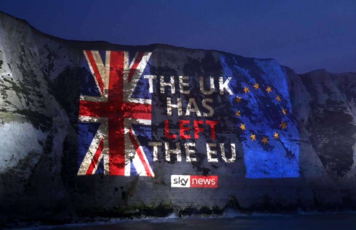 Scocca l'ora della Storia: Londra non è più in Europa