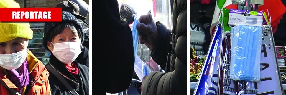 A Roma è psicosi coronavirus e gli abusivi fanno affari con le mascherine