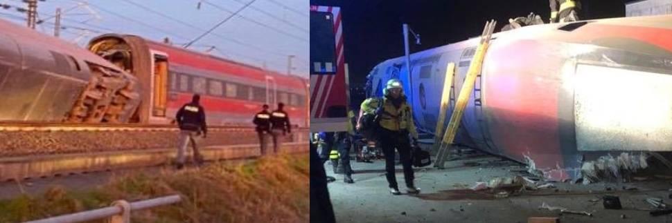 """Frecciarossa deragliato, uno dei passeggeri: """"Pensavo di essere morto"""""""