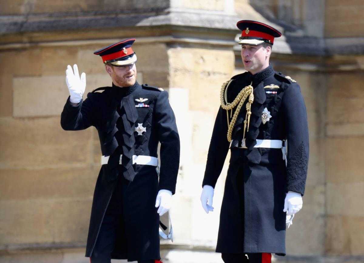 Harry e William sono ancora ai ferri corti