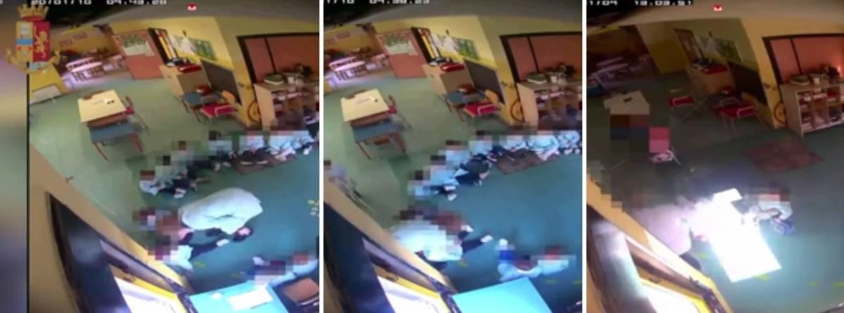 Schiaffi e insulti ai bambini di una materna: maestra torna in libertà