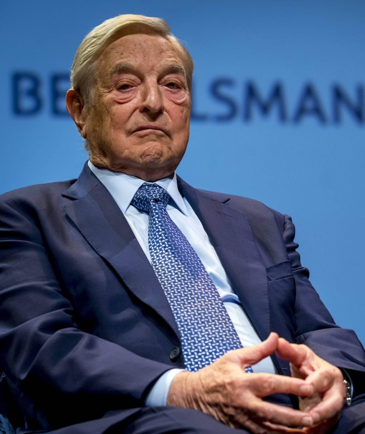 """Soros: """"Trump dittatore e Salvini vuole far uscire l'Italia dall'Ue"""""""