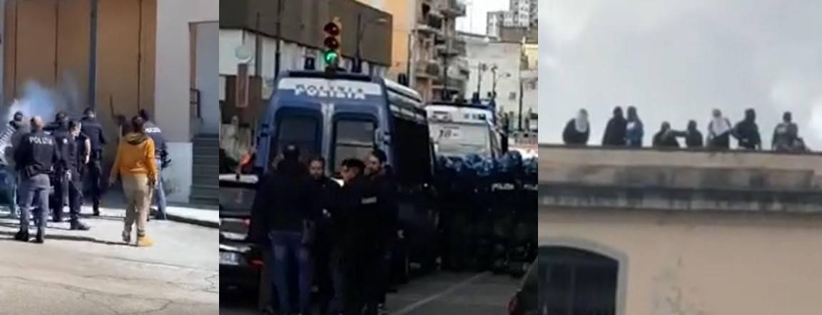 Da Modena a Salerno, detenuti in rivolta contro le misure anti coronavirus