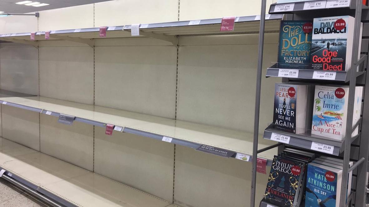 Londra, svuotati i supermercati in meno di 24 ore