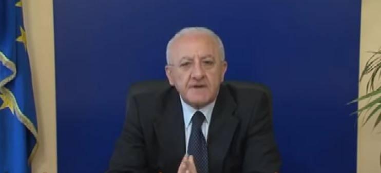 "Coronavirus, De Luca: ""Chiudo la Campania se si allentano misure"""