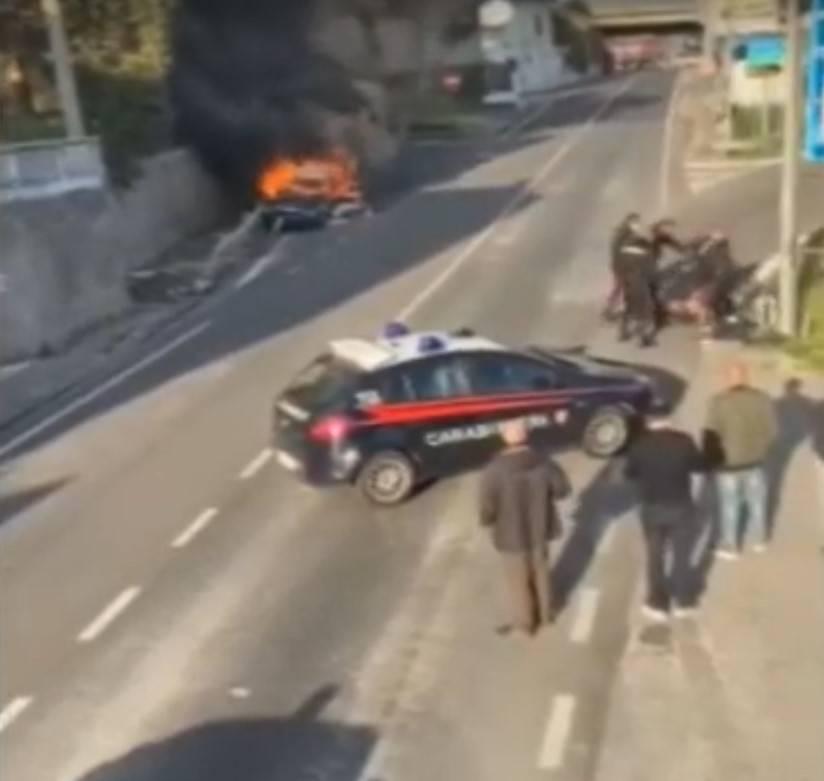 Salerno, indagati i carabinieri aggrediti dall'automobilista