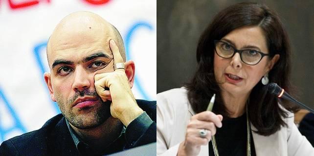 Saviano, Boldrini e le Ong vogliono gli aborti a domicilio