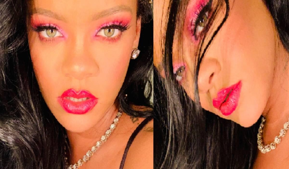 """Rihanna contro i fan per le domande sul nuovo album: """"Voi, figli di p..."""""""