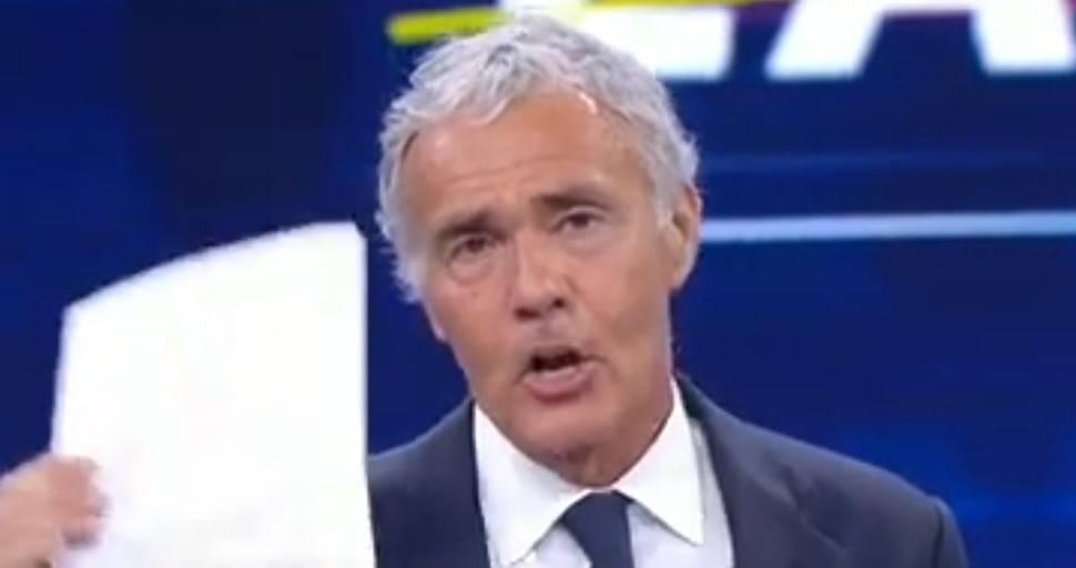 """Giletti contro Burioni: """"Diceva che l'Italia fosse a rischio zero…"""""""
