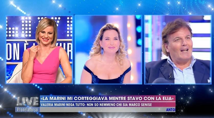 """Antonella Elia stronca Marco Senise: """"Flirt? Un errore breve e non intenso"""""""