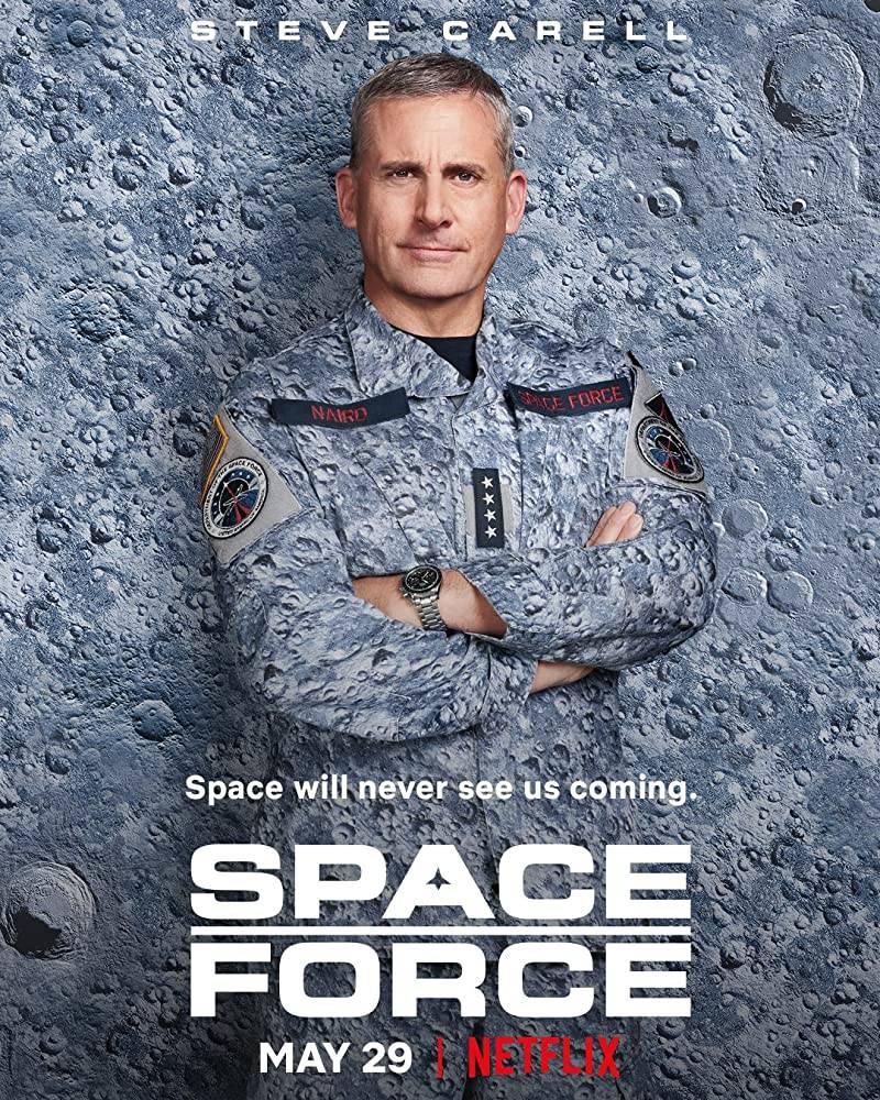 Space Force, la serie tv comedy con Steve Carell arriva su Netflix