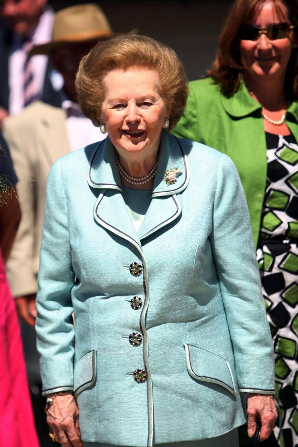 Margaret Thatcher la bimba di provincia che divenne Iron lady