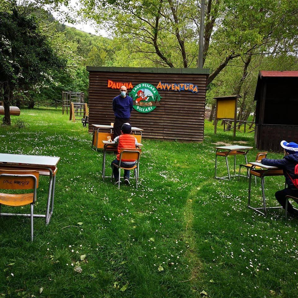 Nel Foggiano si tornerà a scuola in un bosco