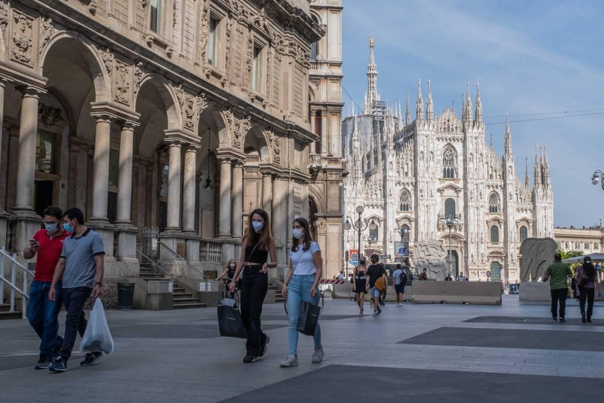 """Milano, la """"fase 2"""" è a rischio: ora l'indice Rt è risalito a 0,86"""