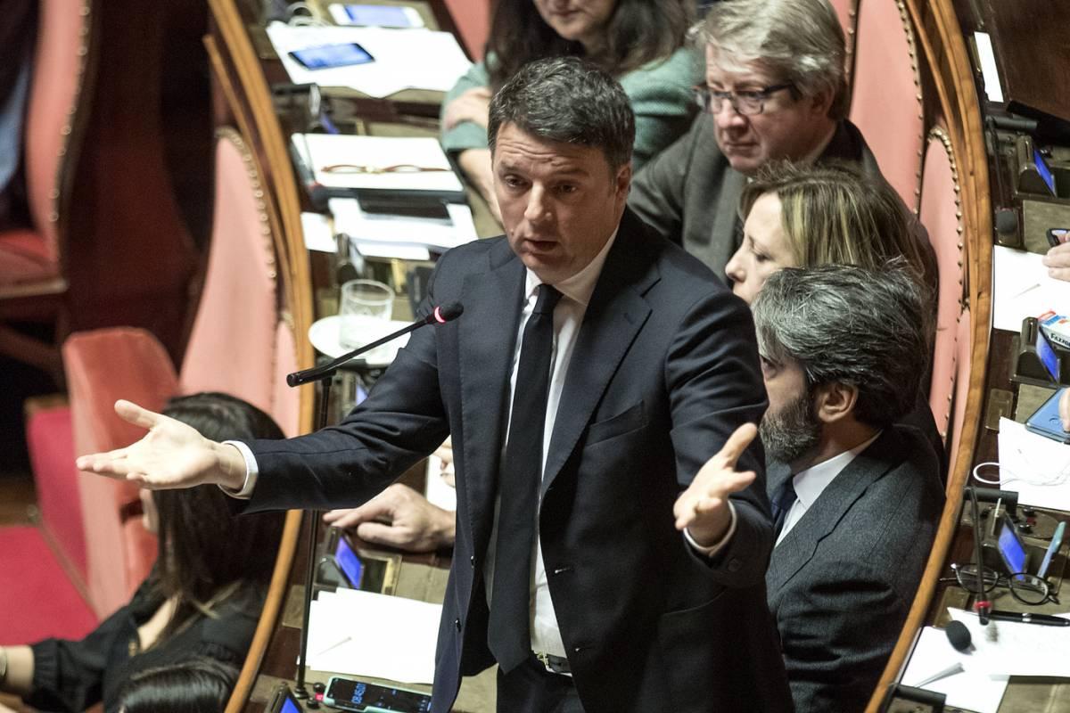 """Renzi """"garantista"""", messaggio ai giallorossi"""