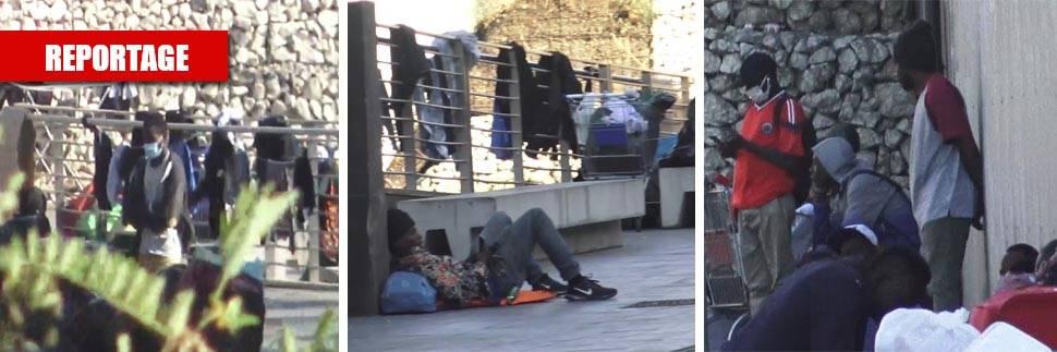 """""""Sgombero farsa"""" alla stazione Tiburtina, i migranti tornano ad accamparsi"""