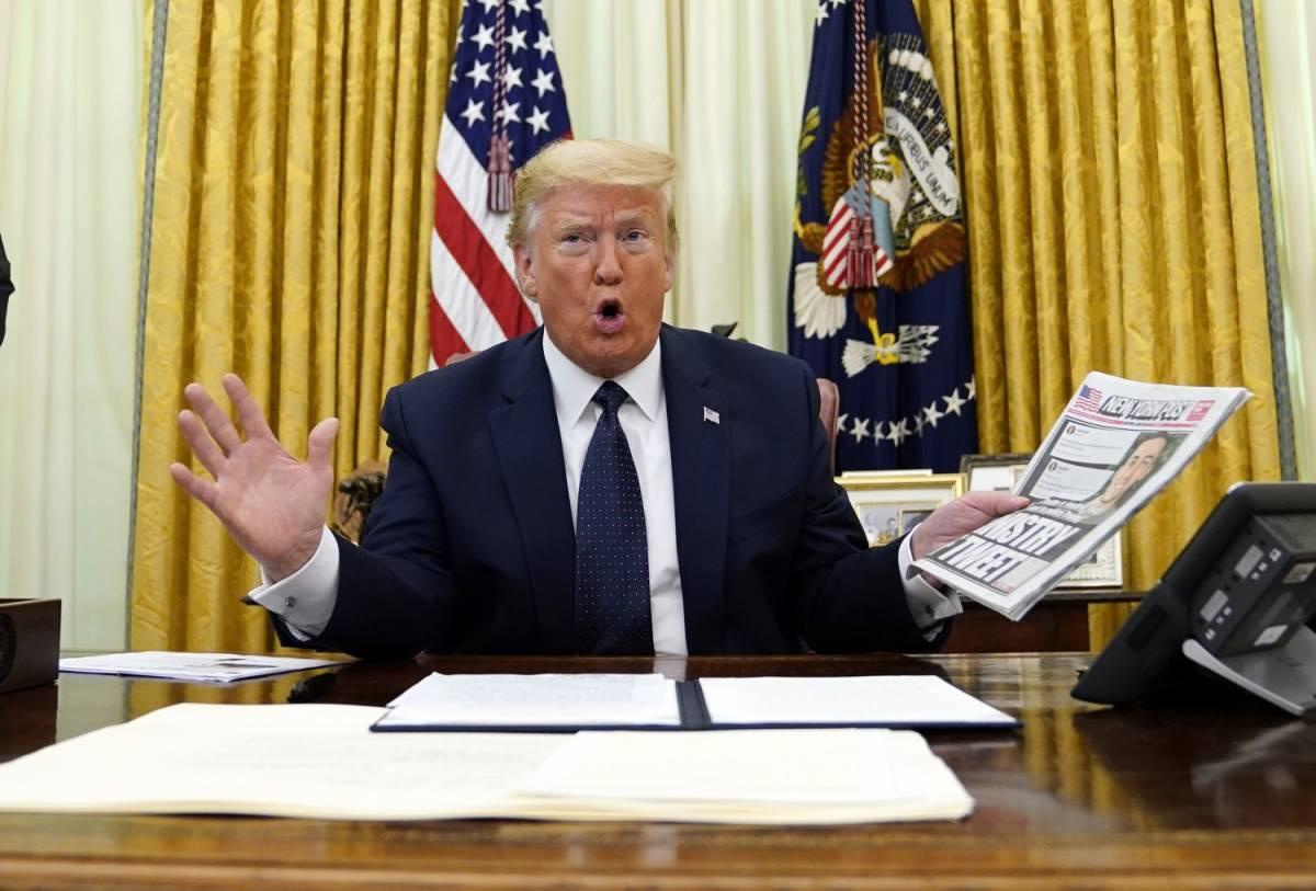"""""""Il tweet istiga all'odio"""", Twitter segnala ancora un post di Trump"""