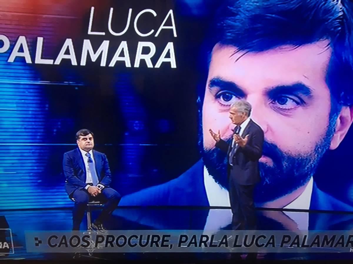 """Caso Salvini, Palamara in tv: """"I pm sono sensibili ai migranti"""""""